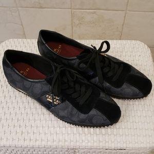 COACH 6.5 Black sneakers